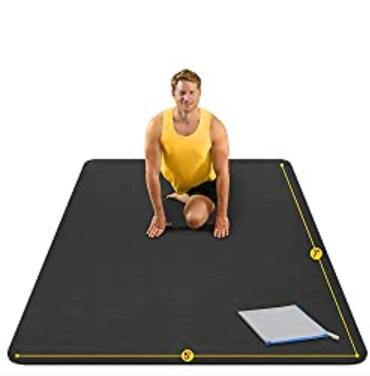 AG ACTIVEGEAR Large Yoga Mat – Non-Slip